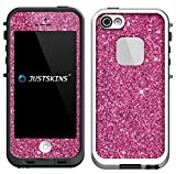 Shimmery Pink Static Skin Decal for Lifeproof iPhone 5/5S Case (Case not included)