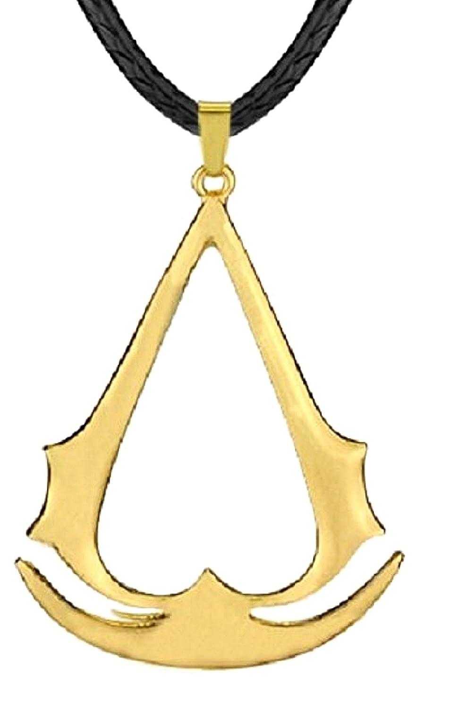 Inception Pro Infinite Collar con Colgante - Credo Dell'Assassino (Cordino - Color Dorado) - Assassin'S Creed 8961035612441