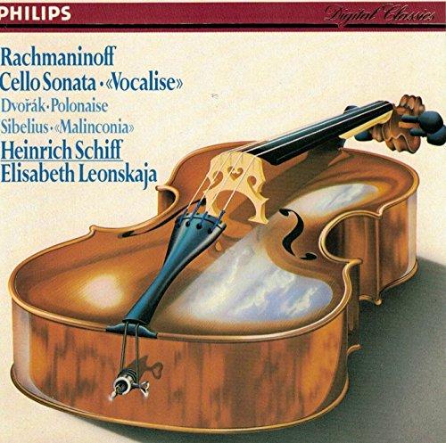 Rachmaninoff: Cello Sonata / Vocalise / Sibelius: Malinconia, Op. 20 / Dvorak: Polonaise