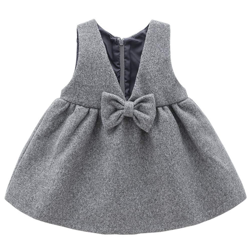 M/ütze Kleidungset 3-36 Monate Kleid ARAUS Baby M/ädchen Outfits Langarmshirt