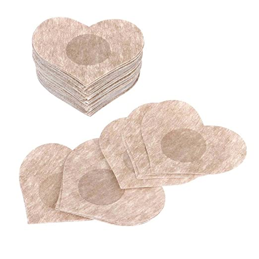 48bab41a09b7f Image Unavailable. Image not available for. Color  Careonline Breast Lift Nipple  Covers Bra Uplifting Lift Tape Pasties Self-Adhesive