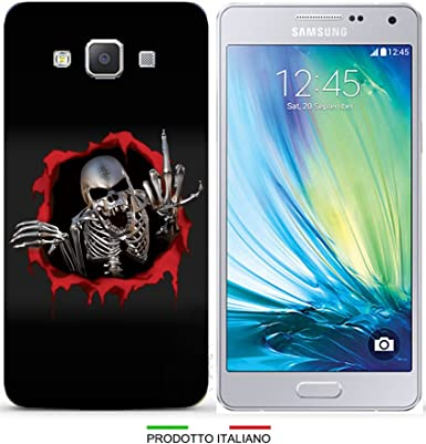cover samsung galaxy core prime teschio