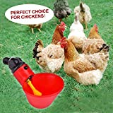 Flantor 10 Pack of Automatic Chicken Waterer