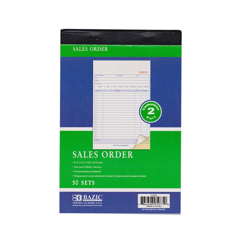 Amazon.com : AllTopBargains 10 Pieces 2 Part Carbonless Sales ...