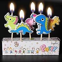 Win-Witem Birthday Candles Kids Child Boys Girls Cute Cartoon Animals Novel Candles