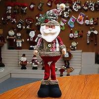 Ohhome Decoración navideña Muñecas Hogar Papá Noel Elk
