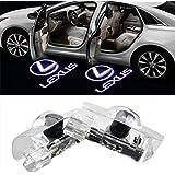 NMXPW 2個セットドア高輝度のLEDチップ レクサス Lexus ロゴ カーテシランプ カーテシライト ゴーストシャドーライト