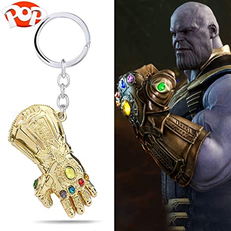 Womdee Thanos Guantelete Llavero, Avengers Guantelete Pop ...