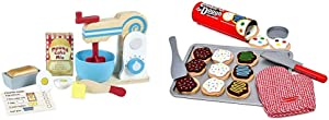 Melissa & Doug Make-A-Cake Mixer Set & Slice and Bake Cookie Set