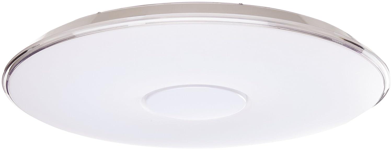 Trio Tokyo - Plafón con LED SMD integrado de 50W. Con mando a distancia, regulador integrado, color de luz variable y función de luz nocturna.