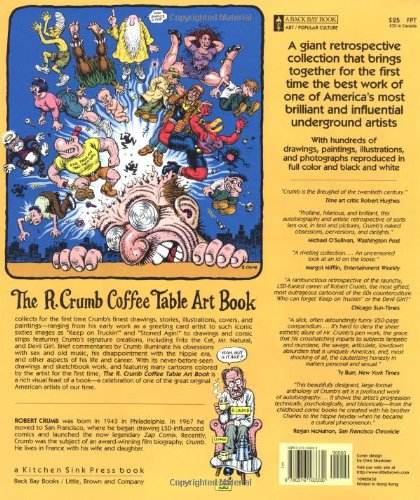 The r crumb coffee table art book kitchen sink press book for back the r crumb coffee table art book kitchen sink press book for back bay books r crumb 9780316163330 amazon books fandeluxe Choice Image