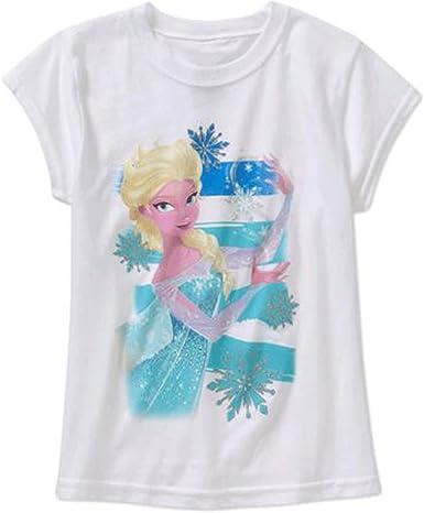 Disney Frozen Girls Big T Shirt