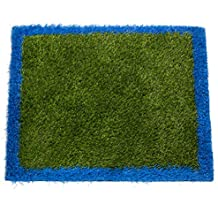 "ZestyNest Outside & Inside Grass Doormat - 24""X30"" Non Skid Waterproof Entryway Door Mat Removes Dirt Debris Mud and Snow - Clean In Seconds With Hose"