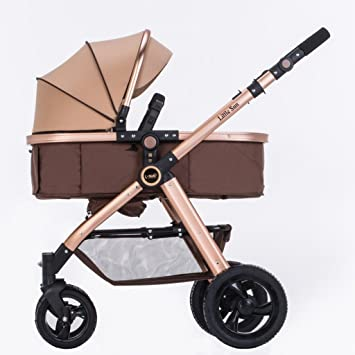 Cochecitos Qiangzi Carrito bebé Niño bebé de Verano Puede Sentarse Mentira de Dos vías Alto Paisaje