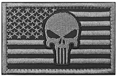 WZT Punisher American Military Patches
