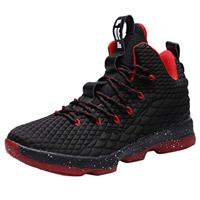 low priced d62ba 2ff1f BURFLY Men s Running Sports Basketball Shoes Sneakers Streetwear, Lebron  James Boots LBJ 15 XV,