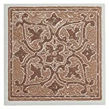 Achim Home Furnishings WTV402AC10 Nexus Accent Wall Tile, 4 by 4-inch, Terra, 27-Pack