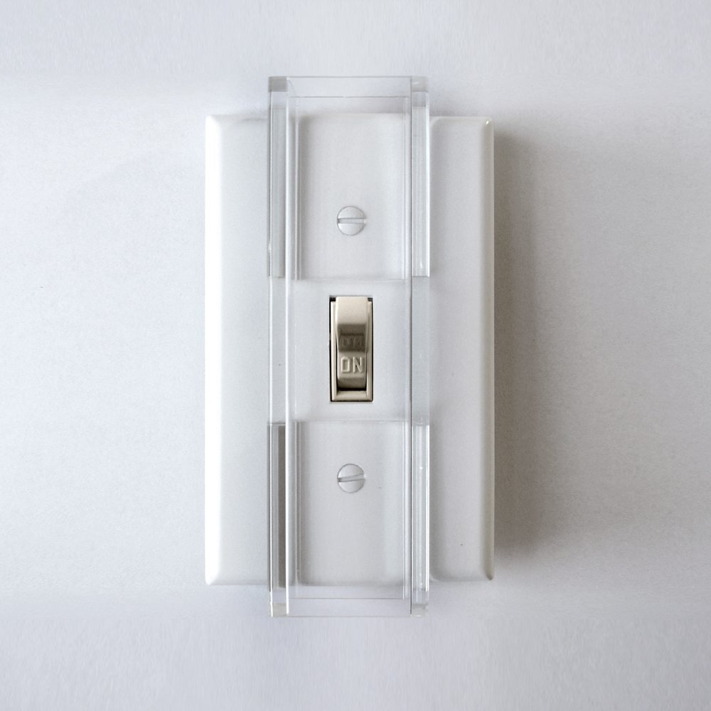 Child Proof Light Switch Guard - for Standard (Toggle) Style Switches by Safety Innovations