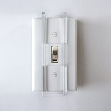 Tamper Proof Light Switch Key: Child Proof Light Switch Guard - For Standard Toggle Style Light Switch,Lighting