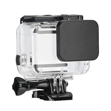 Mugast - Carcasa Impermeable para cámara Hero 5 6 y 7 (45 m ...