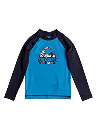 22edea31f6 Amazon.com: Quiksilver Boys Bubble Dream - Long Sleeve Upf 50 Rash ...