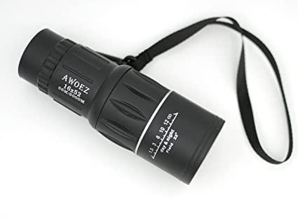 Amazon.com : awoez 16x52 dual focus outdoor monocular telescope