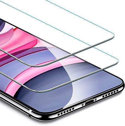 ESR Protector de Pantalla para iPhone 11/iPhone XR, Marco de ...