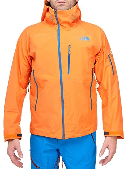 1dea1821e Amazon.com: North Face Enzo Men's Jacket Oriole Orange L: Clothing