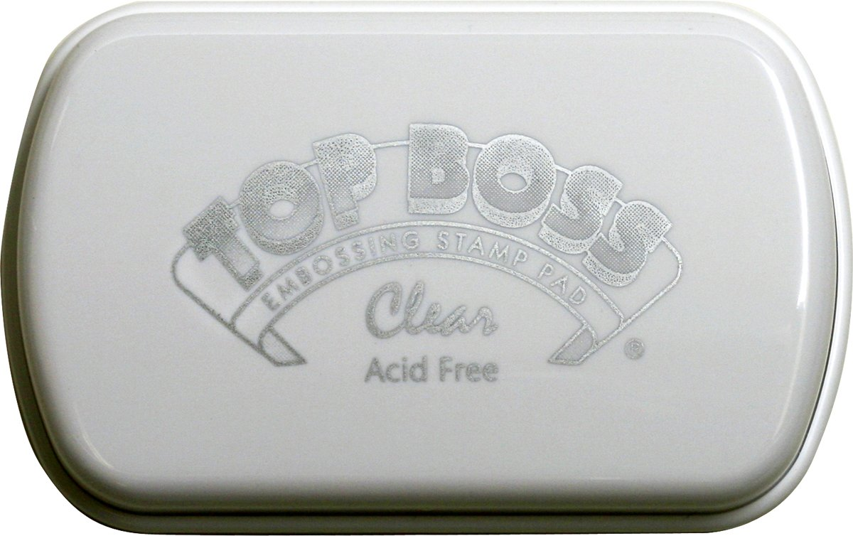 Clearsnap Top Boss Embossing Pad, Transparent 100000-10500