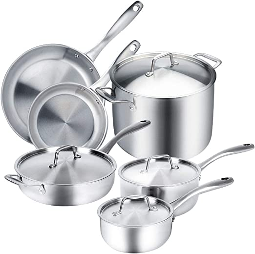 Amazon.com: Duxtop juego completo de utensilios de cocina de ...