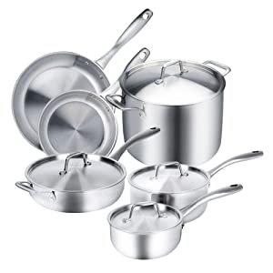 5 Best Cookware Sets For Gas Stoves In 2020 - In-Depth Reviews 8