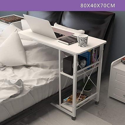Mesa plegable Mesa de escritorio Computadora móvil Mesita de noche ...