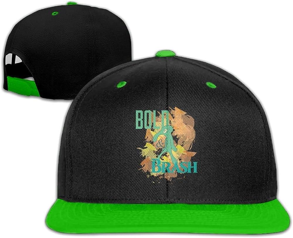 Humaoe Bold and Brash Fashion Peaked Baseball Caps//Hats Hip Hop Cap Hat Adjustable Snapback Hats Caps for Unisex