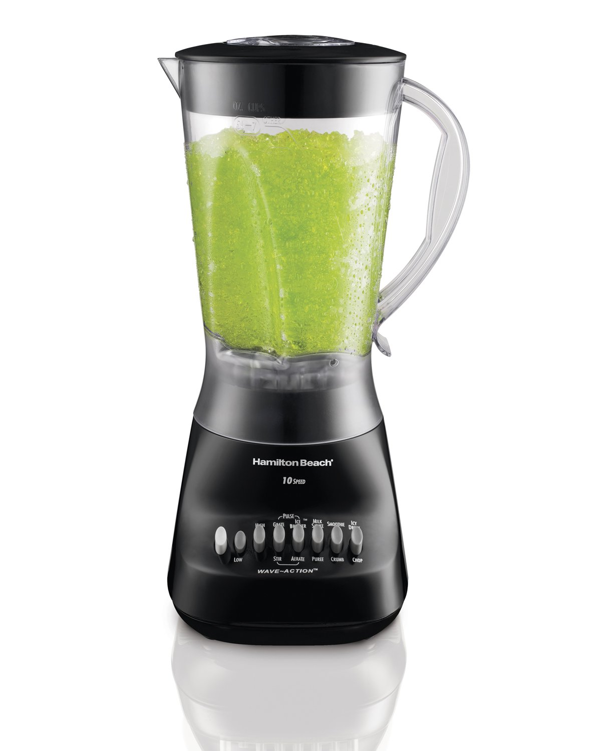Hamilton Beach 50163 Wave Maker 10-Speed Blender, 450-Watt