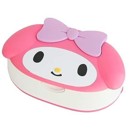 Sanrio My Melody cara die-cut 80 pcs toallitas húmedas W/caso fabricado en