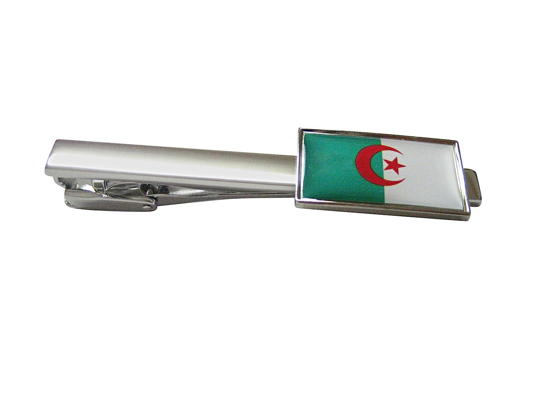 シンボーダーAlgeria Flag Squareタイクリップ   B01KF7EQPC