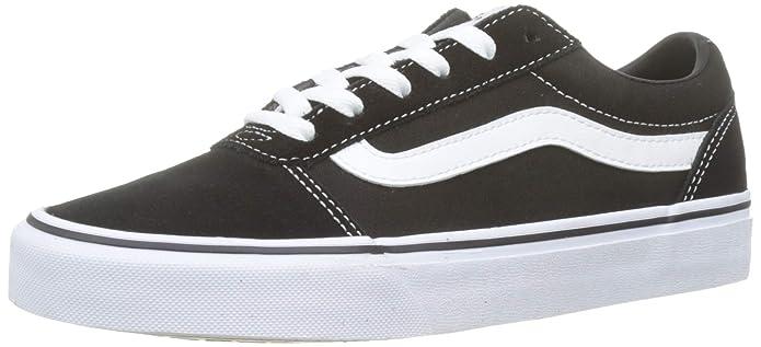Vans Ward Sneaker Damen Suede/Canvas Schwarz
