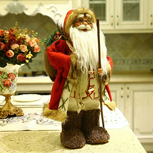 Outdoor Lighted Santa Boots - 6