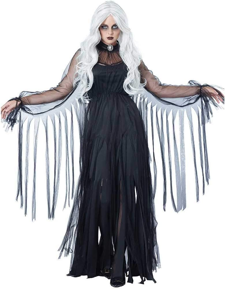 GLXQIJ Disfraz De Murciélago Vampiro Viuda Negra De Ghost Town ...