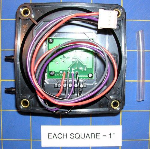 (4074EZB Air Flow Sensor Board (Polarized Plug Connector Style))