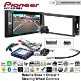 Volunteer Audio Pioneeer AVIC-6201NEX Double Din Radio Install Kit with GPS Navigation Apple CarPlay Android Auto Fits 2004-2006 Pontiac GTO With Bose, Onstar, SWC