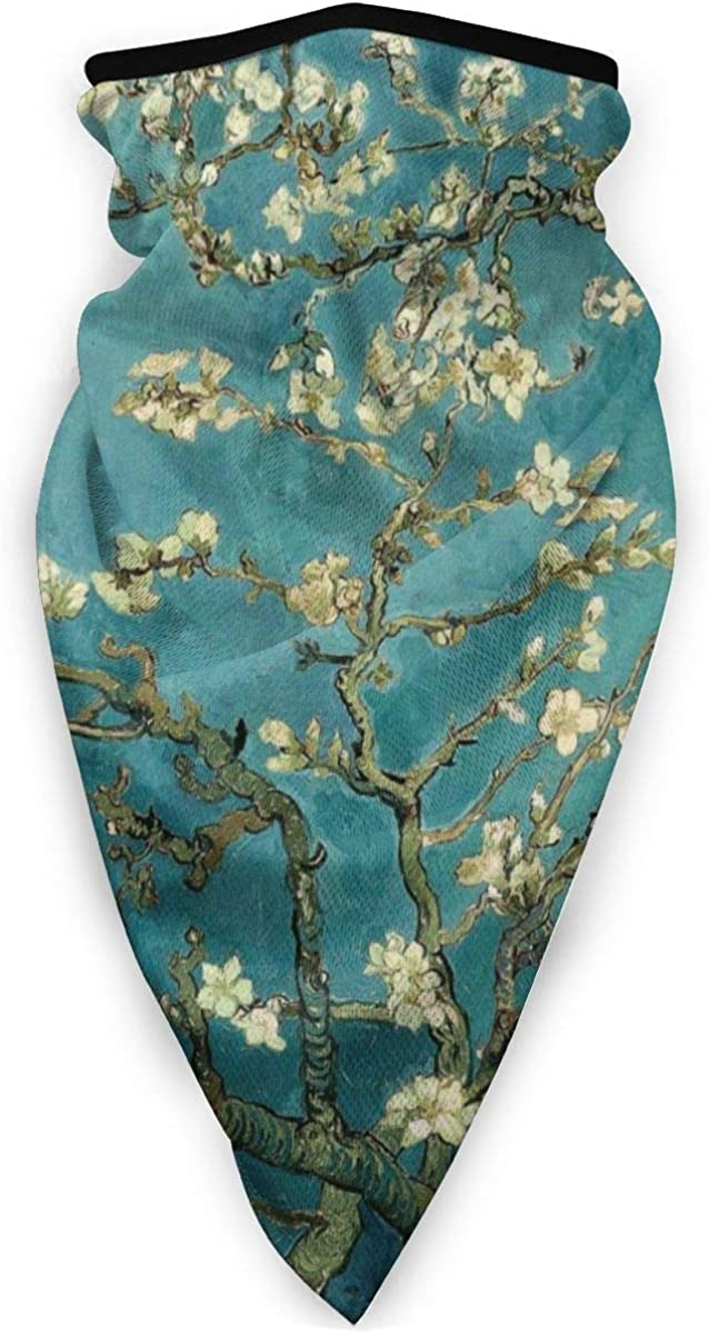 Van Gogh Pattern Unisex Adult Outdoors Windproof Mask Dust Sports Face Mask Half Balaclava Mask Cold Weather Bandana Women Men Festivals Gifts