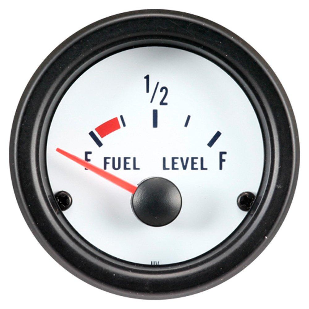 Colore Bianco 52/mm AutoStyle pi40000/Prestazioni Strumento Elettrico Livello Carburante