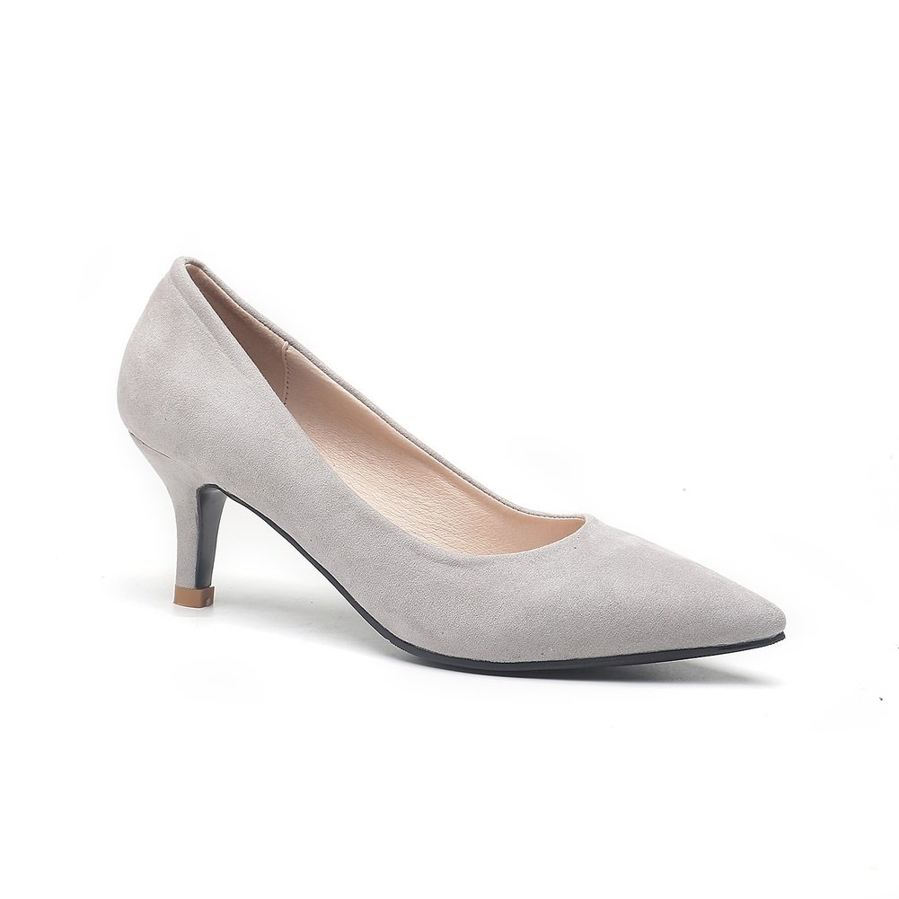 Bbdsj Frauen High Heels 5cm Spitzen Fersen Wildleder High Heels Profi damen Schuhe.mehrere farben.