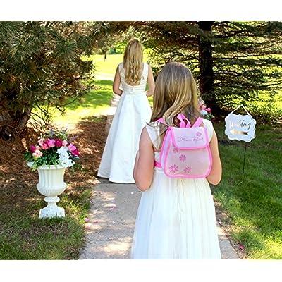 Lillian Rose Flower Girl Backpack Bag Keepsake Gift: Home & Kitchen