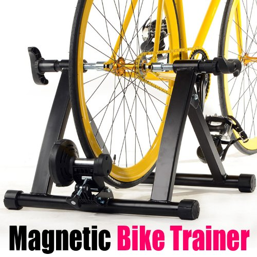 Yaheetech Indoor Exercise Bicycle Bike Trainer Stand/Bicycle Stand Magnetic Resistance Stationary by Yaheetech