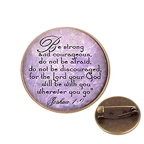 Amazon com: Pinback Buttons Badges Pins Be Strong and Courageous