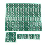 Uxcell a14123100ux0003 50 Piece SO8 SOP8 SSOP8 TSSOP8 SMD To DIP8 Adapter 0.65/1.27 mm Converter PCB Board
