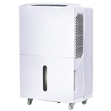 Costway Portable Energy Star Dehumidifier For Basement Or Large Room  Electric Dehumidifier Machine Safe Humidity Control