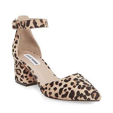 e7f4321749a Steve Madden Women s Dainna-l Leopard Dress Closed 8 US  Amazon.co.uk   Shoes   Bags